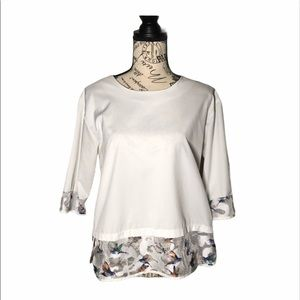 ROMWE White Blouse